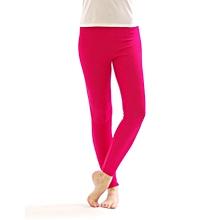 Girls Hot Pink Basic Full Length Leggings