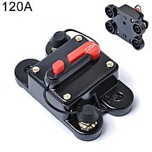 120A DC 12-24V Car Audio Stereo Circuit Breaker Automatic Reset Fuse Holder