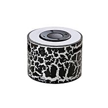 Speaker Portable Mini Stereo Bass Speakers Music Player MP3 TF Speaker BK-Black