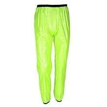 Unisex Outdoor Windproof Waterproof Rainwear Suits Cycling Sports Rain Coat Pants (M)