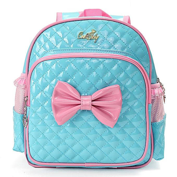 f50aeb09d616 New Kids Children Girl Kindergarten Schoolbag Book Bag Toddle Backpack  Rucksack Blue