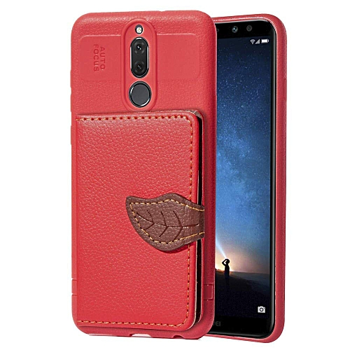 competitive price 5153d b591e Huawei Mate 10 Lite Case, Huawei Nova 2i Case, [Leaf Wallet Cover] [Card  Holder] [Kickstand Feature] Card Package Multi-functional Wallet Back Cover  ...