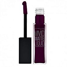 Lip Color Sensational Vivid Matte Lipstick – 45 Possessed Plum