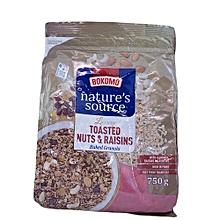 Toasted Nuts & Raisins- 750g
