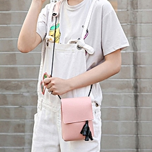 Women's Fashion Simple Tassel Handbag Crossbody Shoulder Bags PK