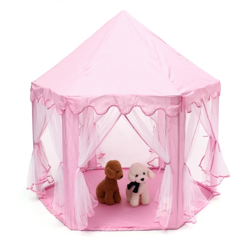 Generic AU Hexagon Kids Playhouse Girls Princess Castle Large Play Tent Fairy House  sc 1 st  Jumia Kenya : large play tents - afamca.org