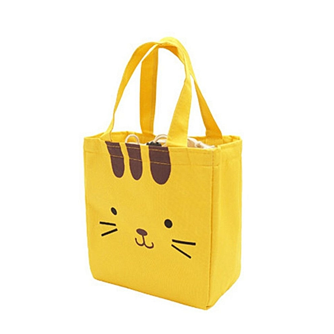 Animal Canvas Bag Ice Pack Oxford Cloth Waterproof Portable Insulation