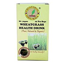 Natural Health Wheatgrass Tea Bags – 50g