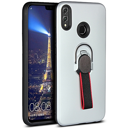 info for 07397 5a351 Honor 8X Case,Ultra-Thin Soft TPU+Hard PC Cover Hybrid Drop-Proof  Protection with Finger Strap & Magnetic Ring Stand Case for Huawei Honor  8X/Honor ...