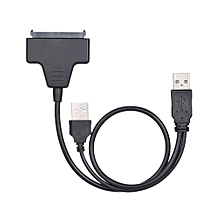 USB 2.0 to SATA Converter Adapter Cable For 2.5 SATA HDD Hard Drive Disk