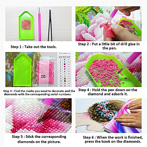 43 Pieces Set DIY 5D Diamond Painting Accessory Fine-quality Drawing Tools  Embroidery Storage Boxes Cross Stitch Tools Case