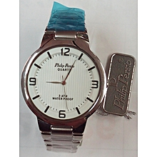 Silver Men's Watch