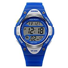 SKMEI Digital Watch Sports Watches Boy Girls LED Alarm Stopwatch Wrist Watch BU