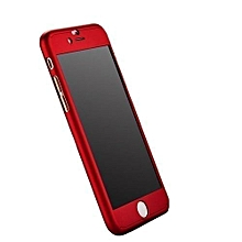 Full Protective Case for IPhone 5/5S/5G - Red