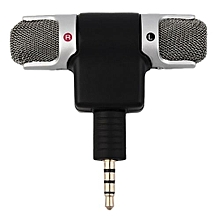 OR Portable Mini Mic Digital Stereo Microphone For Recorder Mobile Phone