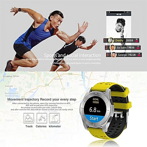 buy generic gs8 wristband heart rate blood pressure monitor smart