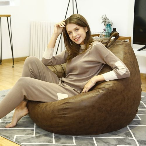 Swell Technology Cloth Bean Bag Cover Fashion Large Beanbag Chair No Filler Living Room Bedroom Sofa Bed No Filling Ibusinesslaw Wood Chair Design Ideas Ibusinesslaworg
