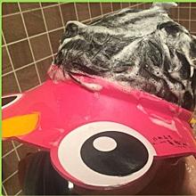 Adjustable Baby Child Kids Shampoo Bath Shower Cap Hat Wash Pink