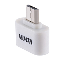 MIXZA Mini 2 In 1 OTG USB 2.0 To Micro-USB Converter Adapter