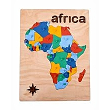 Map of Africa - Multicolor