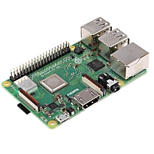 CO For Raspberry Pi 3 Model B+ Plus-64Bit Quad Core 1.4GHz Dual Band WiFi-green