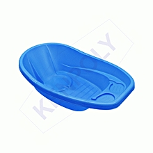 cute baby bath basin-blue