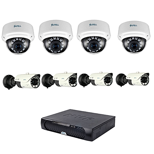 32 Channel CCTV Package (8 Cameras and a 32 Chanel NVR Recorder)
