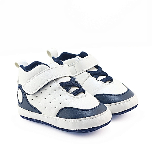 Neworldline Newborn Infant Baby Boys Girls Crib Shoes Soft Sole Anti-slip  Sneakers-As Shown 7533a9bd73fe