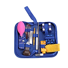126pcs Professional Watch Repair Tool Kits Back Case Opener Spring Pins Screwdriver with Carry Bag