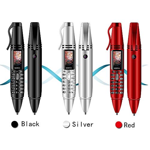 7ab5fa8b30d Generic SERVO K07 0.96inch Tiny Screen Pen mini Mobile phone Dual SIM Card  Bluetooth Dialer Cellphone with Flashlight Recording Pen