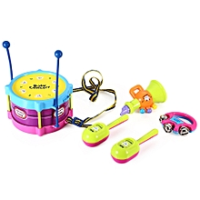 Children Drum Rattles Educational Game Instrument Assembly Toy Set
