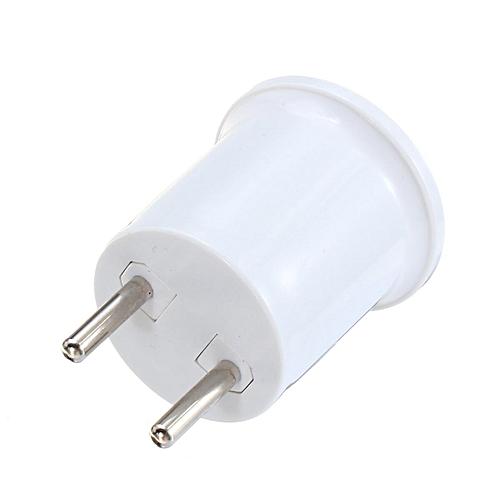 AC100-240V 4A PBT Material EU Plug/US Plug To E27/E26 Bulb Adapter Socket  Holder For Bulb Lamp