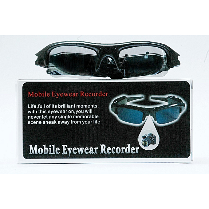 8785d897bc ... 480P Digital Video Recorder mini Camera DV DVR Eyewear Sunglasses  Camcorder Recorder Support TF card For ...