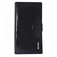 Samsung note 5- Flip Cover - Black