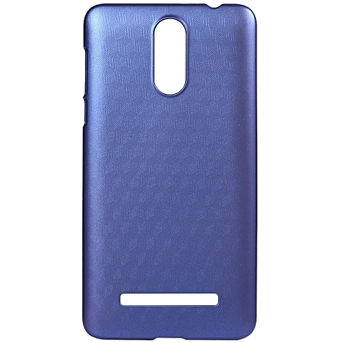 LEAGOO M8 / M8 Pro OCUBE Hard Protective Case Phone Cover  Metallic Paint Coating Mobile Shell -Blue