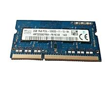 Laptop Ddr3 2gb PC3L-12800S-11-11-B2 DDR3 Sodimm Laptop Memory RAM 1600MHz  Ram