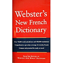 WEBSTER'S NEW FRENCH DICTIONARY -Bilingual