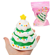Christmas Tree Fruit Model Children's Squishy Collection Gift Decor Toy  Packaging-
