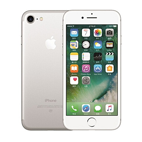 4.7 Inch For IPhone 7 A1788 Smartphone 2GB RAM Quad Core 12.0MP Fingerprint-White