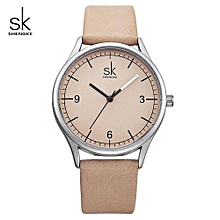 Top Brand Quartz Watch Women Casual Fashion Leather Watches