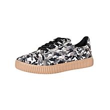 Black & White Women's Sneakers