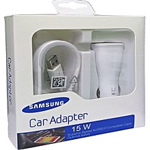 Car Adapter Charger 15W 2A