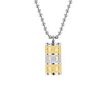 Titanium Steel Pendant Necklace Chain Romantic Jewelry Accessories