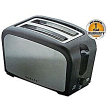 Slice Bread Toaster - Black & Silver