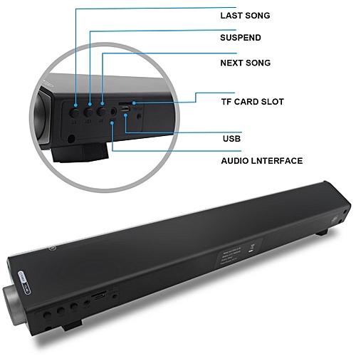 Wireless Bluetooth Home Theater Soundbar Subwoofer Multimedia Speaker System