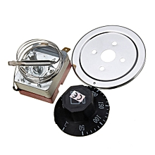 AC220V 16A Dial Thermostat Temperature Control Switch For Electric Oven 50-300C Dial