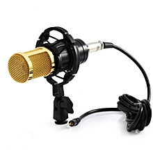 BM 800 Computer Microphone 3.5mm Wired Condenser Sound Microphone With Shock Mount