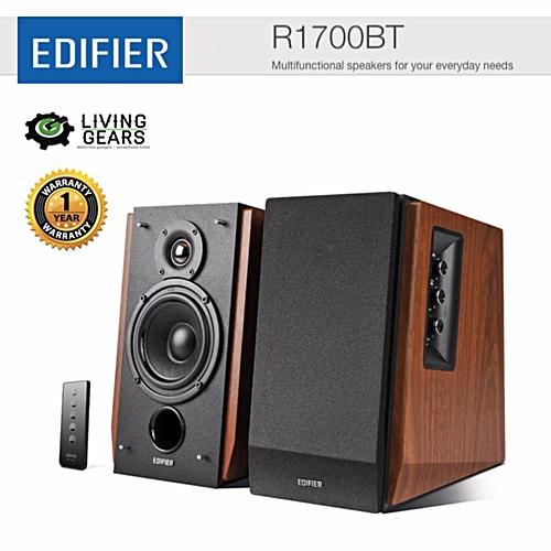 Edifier R1700BT Multifunctional 2.0 Bluetooth Bookshelf Speaker   POWERLI