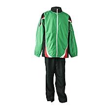 Track Suit Woven Green/Black/Red/White- Nshke02green/Black/Red/White