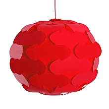 YouOKLight YK2238 12PCS IQ Lampshade with Puzzle Creative Decor Design for Room Bar RED